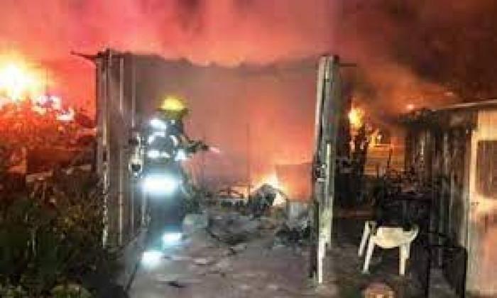 مصرع 8 فلسطينيين في حريق بالسعودية