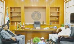 الرئيس الزُبيدي يقف على أنشطة انتقالي شبوة