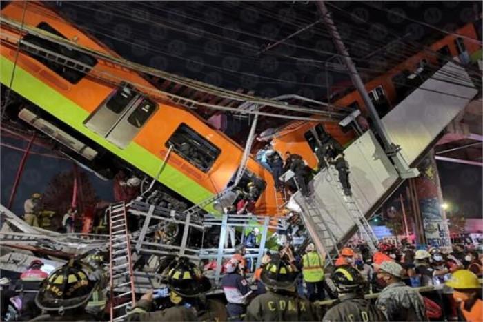 ارتفاع حصيلة ضحايا مترو المكسيك إلى 26 قتيلًا