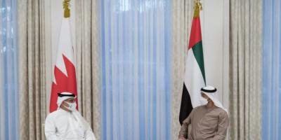 تفاصيل لقاء ولي عهد أبوظبي بنظيره البحريني اليوم (صور)