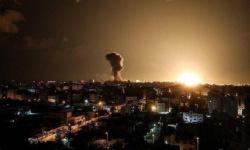بـ4 صواريخ.. الاحتلال الإسرائيلي يقصف مواقع في غزة