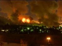 المقاتلات الإسرائيلية تقصف مبنى يضم شركات إعلامية بغزة
