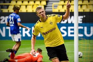 هالاند يعزز صفوف دورتموند أمام لايبزج في نهائي كأس ألمانيا