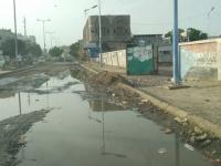 طفح الصرف الصحي يسبق العيد في جعار