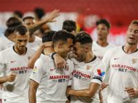أشبيلية يجتاز فالنسيا بهدف النصيري ويتمسك بآماله الضئيلة في المنافسة على الدوري الإسباني