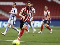 أتلتيكو يجتاز عقبة كؤود لنيل لقب الدوري الإسباني بثنائية في سوسييداد