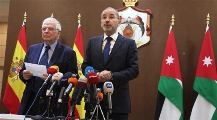 الأردن وإسبانيا تناقشان تطورات الأوضاع في الأراضي الفلسطينية