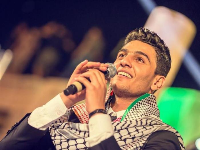 محمد عساف يدعو لفلسطين