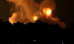 الجيش الإسرائيلي يستهدف منصات صواريخ تابعة لحماس بخان يونس