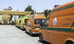 مصر تدفع بـ 10 سيارات إسعاف لنقل مصابي غزة