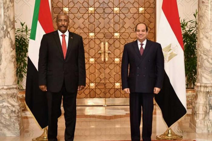 السيسي والبرهان يؤكدان على ضرورة التوصل لاتفاق ملزم بشأن ملء سد النهضة