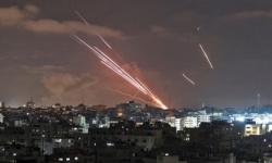 مقاتلات إسرائيلية تقصف مجمع أنصار الحكومي بغزة