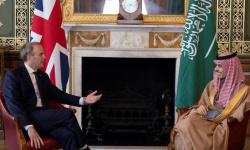 وزير الخارجية السعودي يلتقي بنظيره البريطاني في لندن
