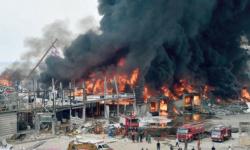 اندلاع حريق مجهول في مرفأ بيروت