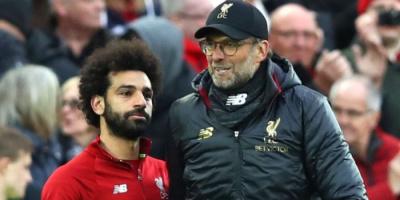 كلوب: لولا صلاح لتواجد ليفربول في مكان آخر