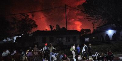 ثوران بركان جبل نيراغونغو بالكونغو يقتل 13 شخصًا