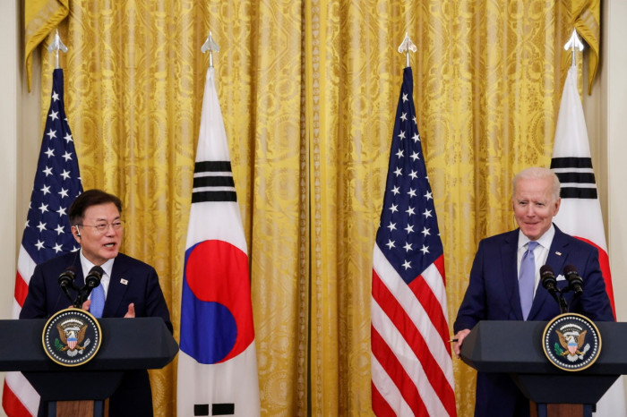 كوريا الجنوبية: قمة مون جيه وبايدن فرصة لتهيئة ظروف كافية للكوريتين والولايات المتحدة