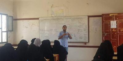"""""""خليفة الإنسانية"""" تنظم دروس تقوية في ثانوية الزهراء بحديبو"""