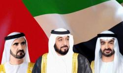 رئيس الإمارات وبن راشد وبن زايد يهنئون العاهل الأردني بذكرى استقلال بلاده