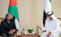 الشيخ محمد بن زايد والعاهل الأردني يبحثان أبرز القضايا الإقليمية