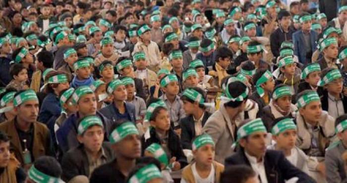 """معسكرات الحوثي """"المدرسية"""".. أوكار تصنع الإرهاب منذ الصغر"""