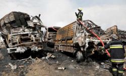 مقتل 4 أشخاص وإصابة 11 في انفجار قنبلة بأفغانستان