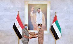 رئيس الأركان الإماراتي يستقبل قائد القوات الجوية المصري