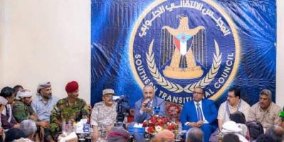 الانتقالي يحصن لحج من مؤامرات الحوثي والإخوان