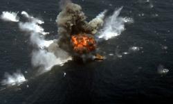 أنباء عن انفجار بسفينة تابعة للجيش الإيراني