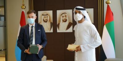 الإمارات ولوكسمبورغ تشكلان لجنة اقتصادية مشتركة