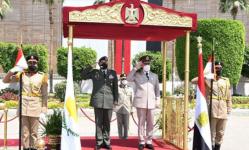 مصر وقبرص تؤكدان على ضرورة تعزيز التعاون العسكري