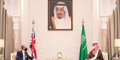 ولي العهد السعودي ووزير الخارجية البريطاني يبحثان مستجدات الأحداث في الشرق الأوسط