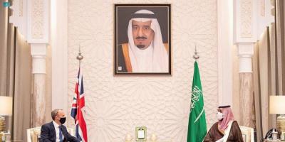 بريطانيا: مباحثات بن سلمان وراب تناولت ملف اليمن