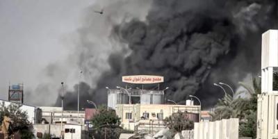 إخوان ثابت.. قصة منشأة صناعية اعتاد الحوثي استهدافها