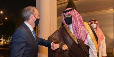 مباحثات سعودية – بريطانية حول جهود السلام باليمن