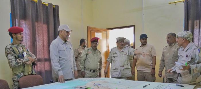 الزُبيدي يقف على خطط عمل هيئة العمليات العسكري