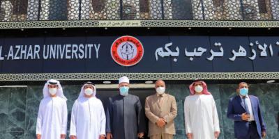 سفير الإمارات بالقاهرة عن جامعة الأزهر: قبلة العلم وكعبة العلماء
