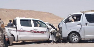 20 ضحية في حادث مروري بحضرموت
