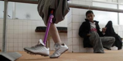 ألغام الحوثي تصنع جيلًا جديدًا من ذوي الإعاقة.. أرقام مؤلمة وحقائق موجعة