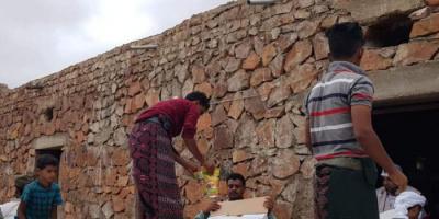 """""""خليفة الإنسانية"""" تتحدى الجغرافيا لإغاثة سكان عسروتي"""