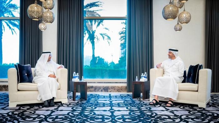 وزير الخارجية الإماراتي يستقبل أمين عام مجلس التعاون الخليجي