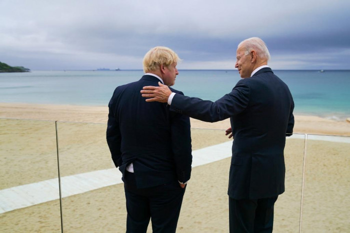 بايدن: العلاقات بين أمريكا وبريطانيا أقوى من أي وقت