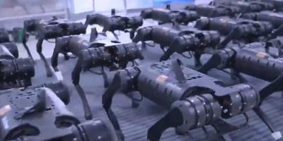 شركة صينية تطرح روبوت جديدًا ذا 4 أرجل