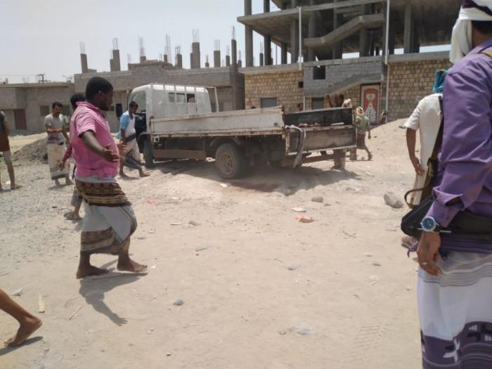 إرهابي يستهدف شاحنة نقل للقوات الجنوبية بأبين