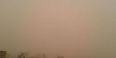 موجة غبار تزحف إلى المهرة وحضرموت وشبوة