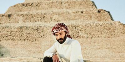 من أمام هرم سقارة.. خالد النبوي يوجه رسالة لجمهوره