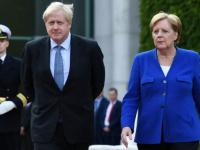 جونسون وميركل يبحثان أنشطة الصين وروسيا المزعزعة للاستقرار