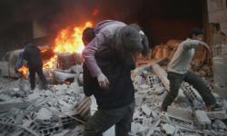 مقتل 16 شخصًا في قصف مدفعي على مدينة عفرين السورية