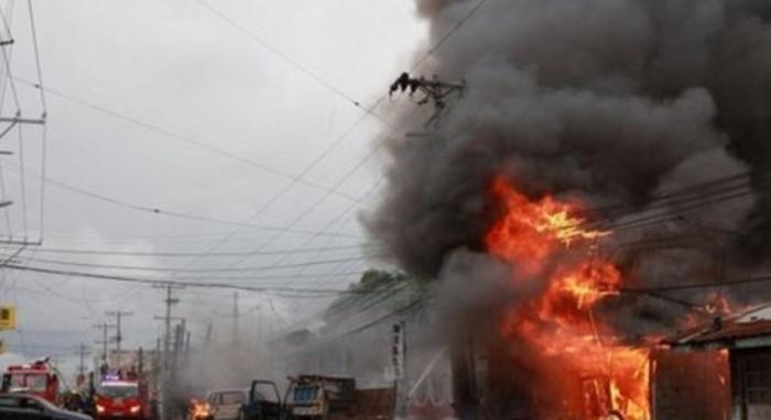 إصابة 6 أشخاص في انفجار سفينة شحن بأحد موانئ الفلبين