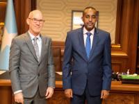 رئيس وزراء الصومال يلتقي مبعوث الأمين العام للأمم المتحدة